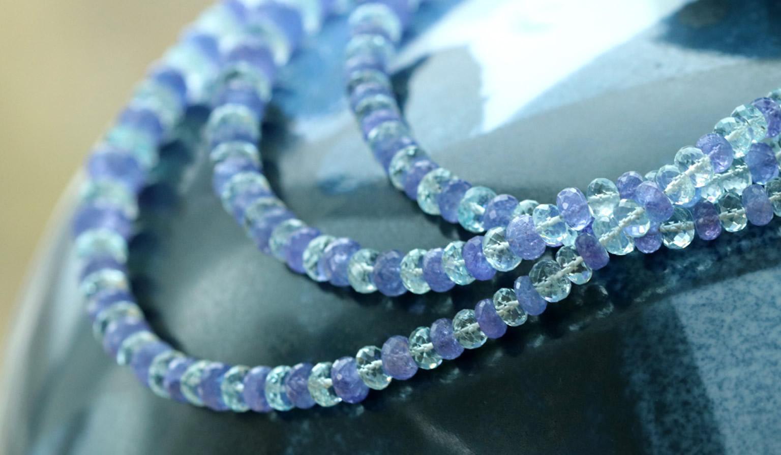 Tanzanite Turquoise Necklace
