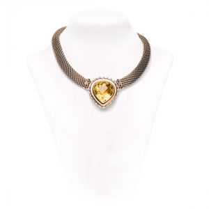 citrine-and-silver-necklace