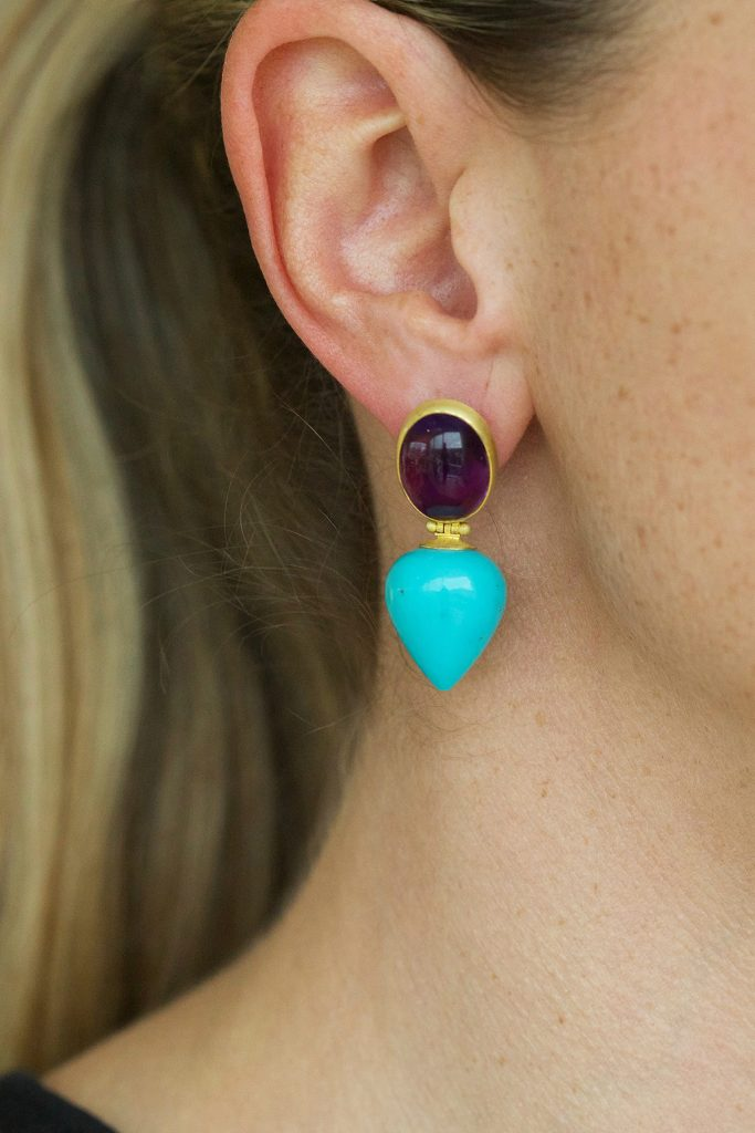 John Lloyd Morgan - Earrings on ear