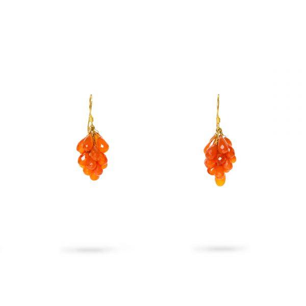 cornelian-and-gold-earrings